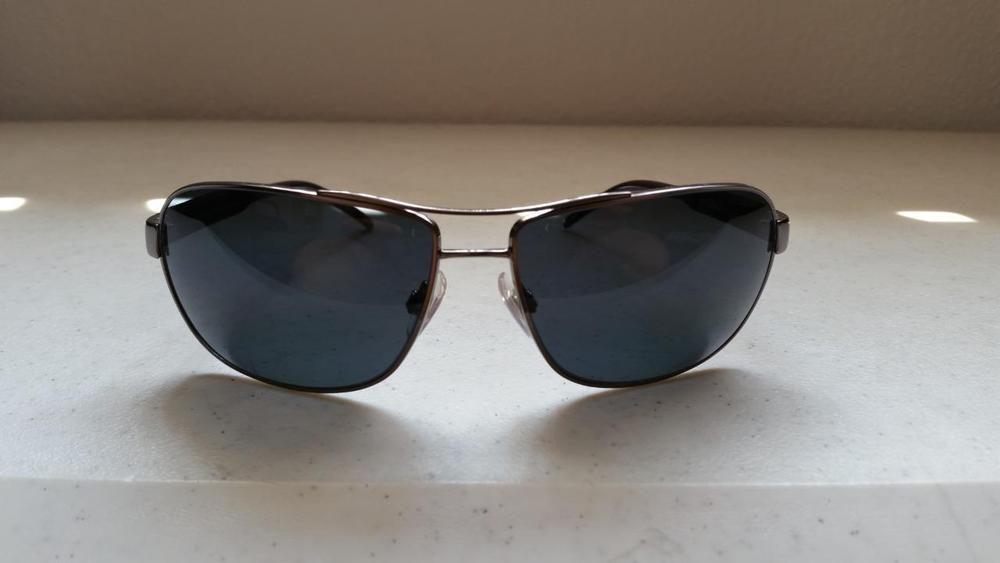 39e3f662306bf  30.95 Ralph Lauren Polo Sunglasses Gun Metal Frame Polarized Black Lenses  3053  RalphLaurenPolo  Sport