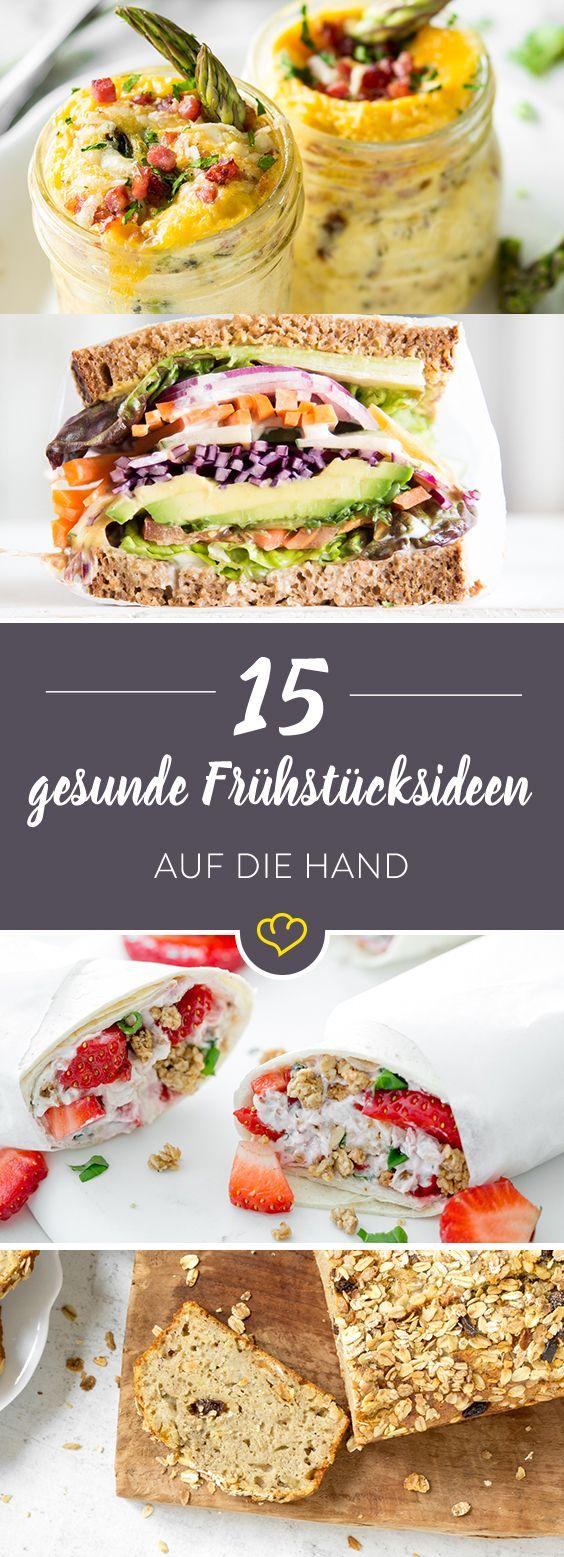 Auf die Hand, in den Mund! 20 mal Frühstück to go #bananabread
