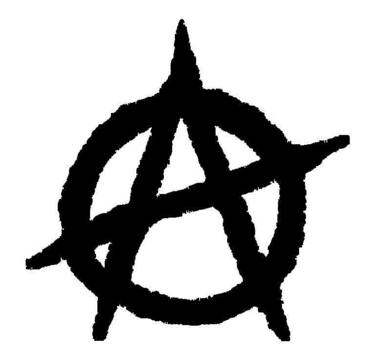 Anarchy Symbol Die Cut Decal Car Window Wall Bumper Phone Laptop I