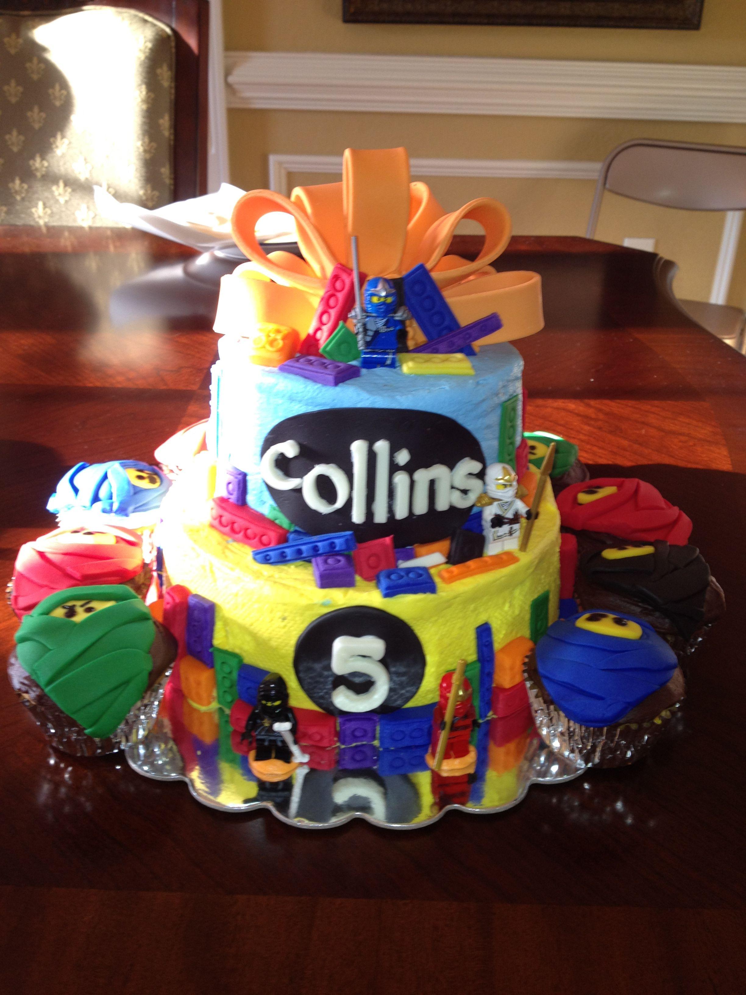 Ninjago Birthday Cake