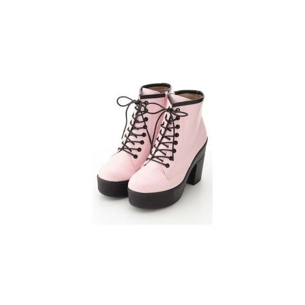 3f6c81a973b Nightmare Reflective Platform Boot Dolls ❤ liked on Polyvore featuring shoes