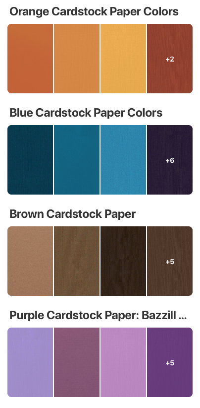 41++ American crafts cardstock color chart ideas