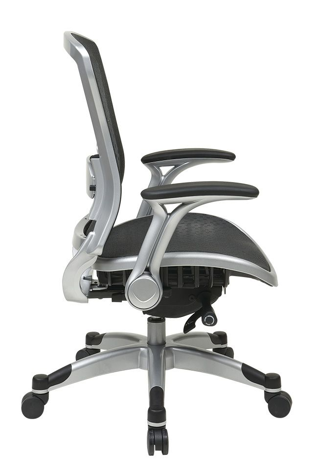 Space 317 Office Chairs Breathable R2 Spacegrid Seat And Back