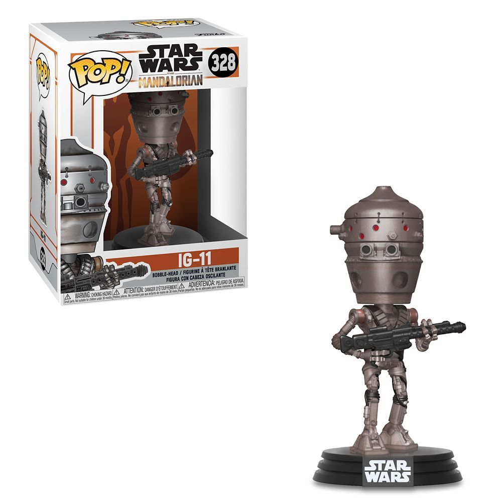 Ig 11 Pop Vinyl Bobble Head Figure By Funko Star Wars The Mandalorian Bobble Head Mandalorian Star Wars