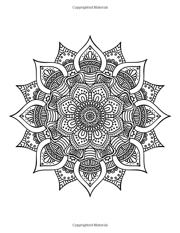 The World's Best Mandala Coloring Book: A Stress