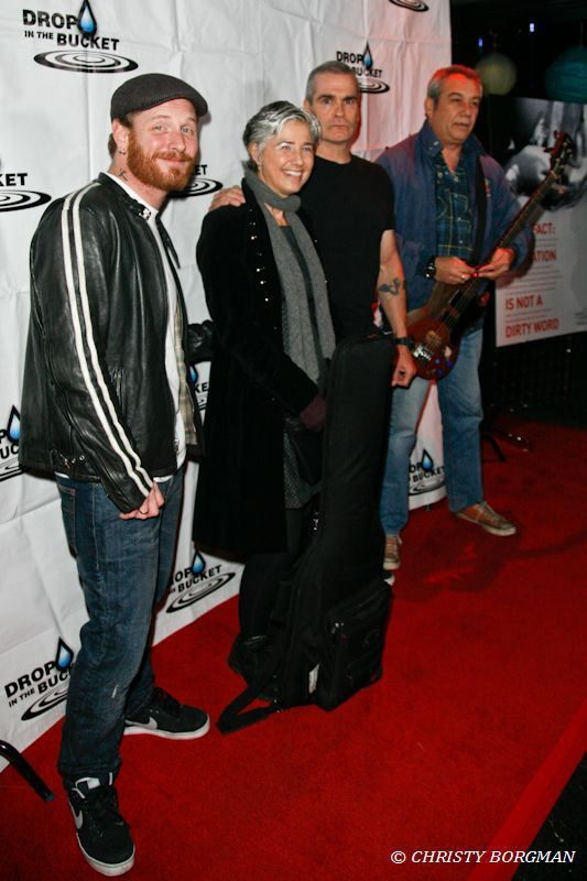 Corey Taylor, Kira Roessler, Henry Rollins and Mike Watt