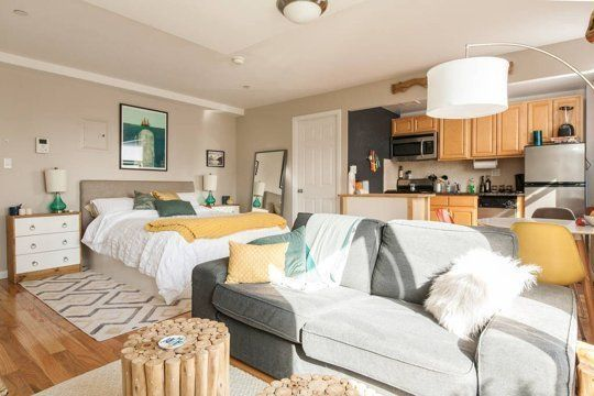 Decorating Apartment Cheap How To Make Your Apartment Cozy On A Budget With Images Studio Apartment Layout Apartment Layout Apartment Design
