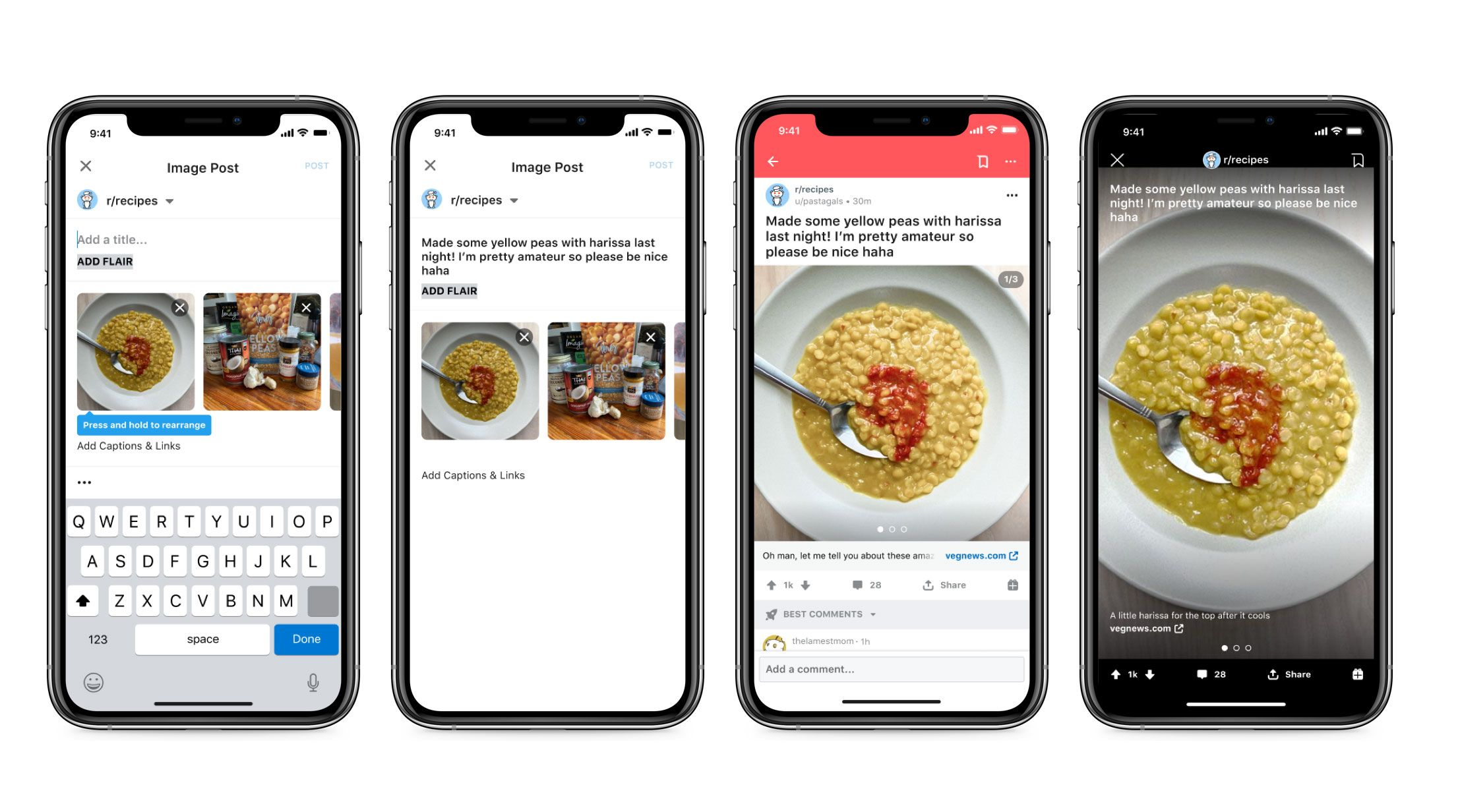 Reddit Finally Supports Native Image Galleries In 2020 New Image Image Supportive