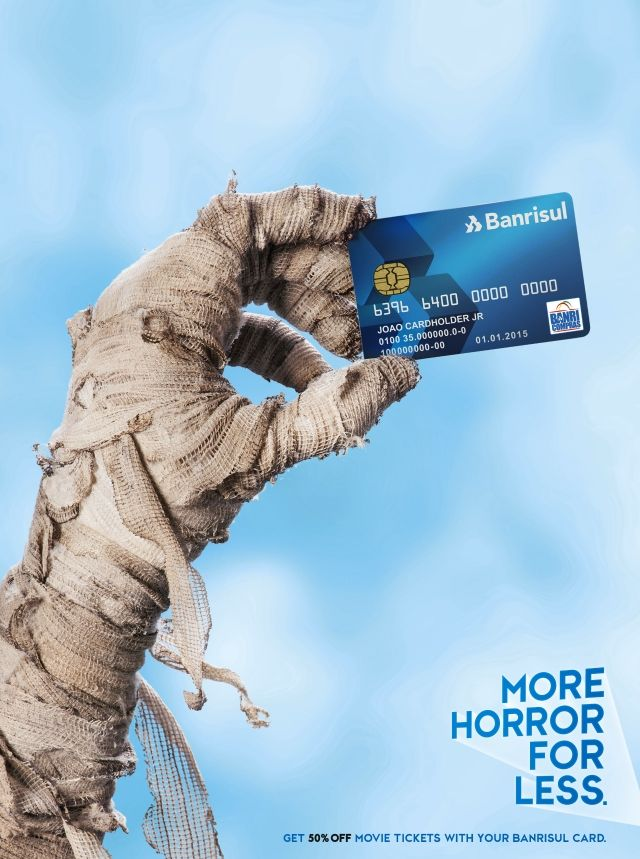 Banrisul Credit Card More Movies For Less Credit Card
