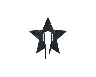 Rockstar By Reddskinn Star Logo Design Music Logo Design Star Logo