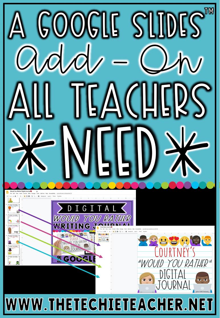 A Google Slides™ Add-On All Teachers Need