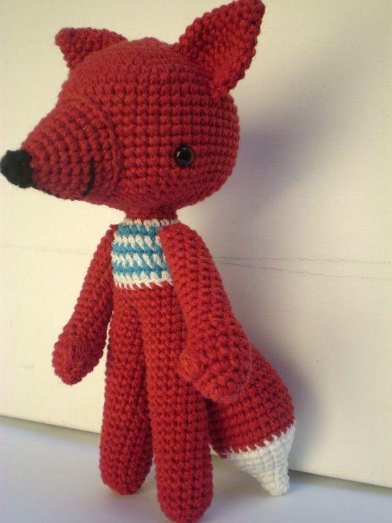 my favourite amigurumi fox! | Muñecos crochet | Pinterest | Bosques ...