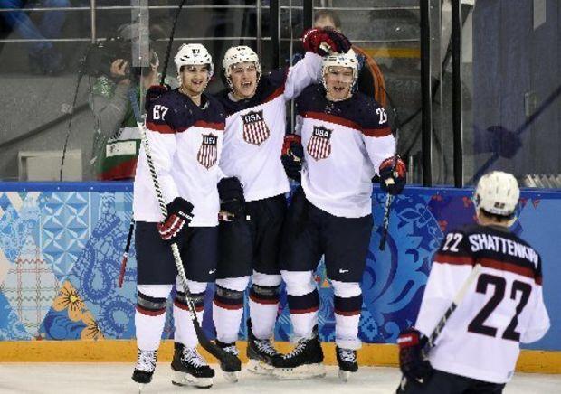 Team Usa Olympic Hockey Team Usa Hockey Russia Olympics