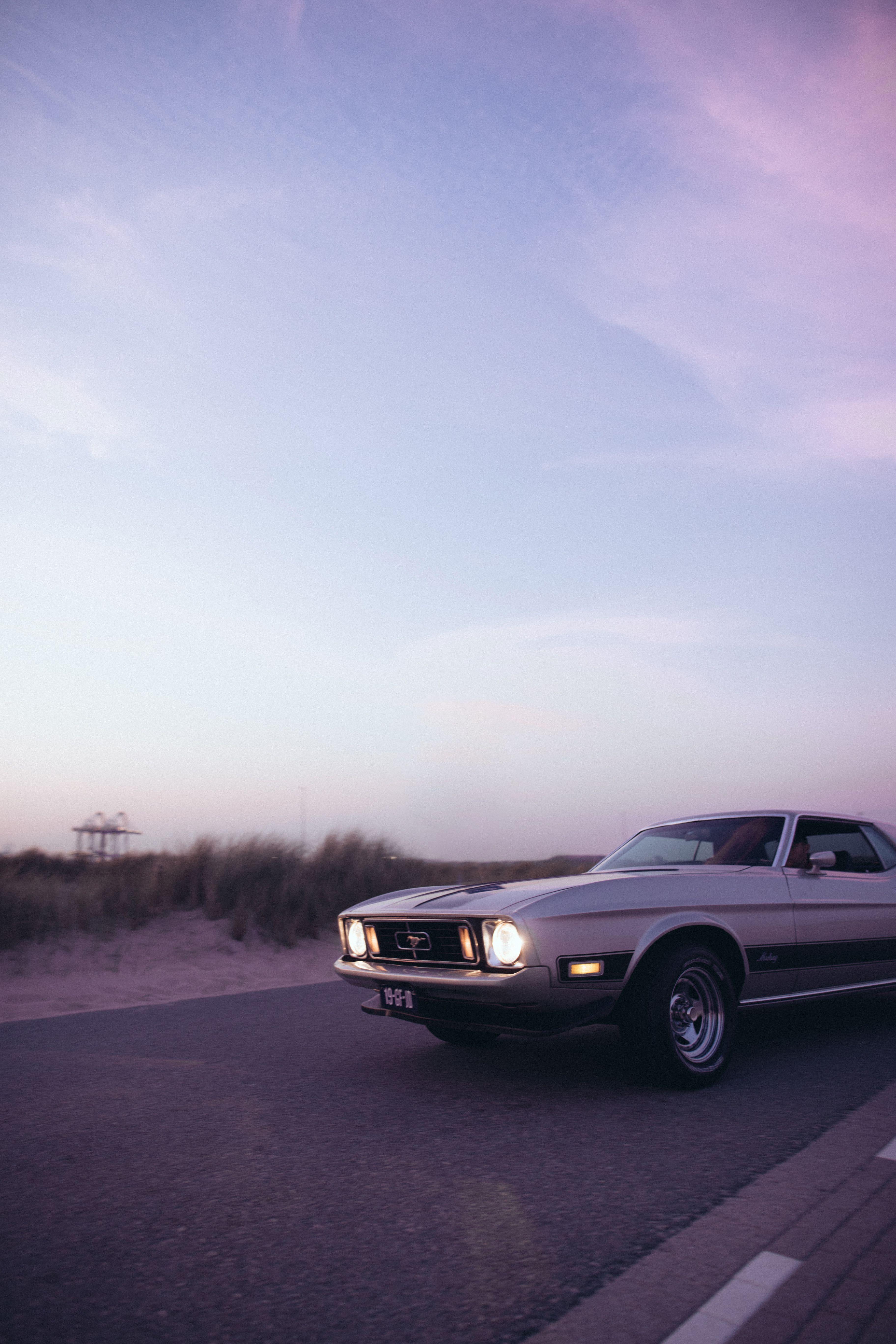Driving Mustang Mustang Wallpaper Retro Cars Classic Cars Vintage