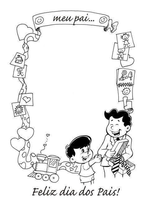 Cartoes Do Dia Dos Pais Para Imprimir E Colorir Dia Dos Pais