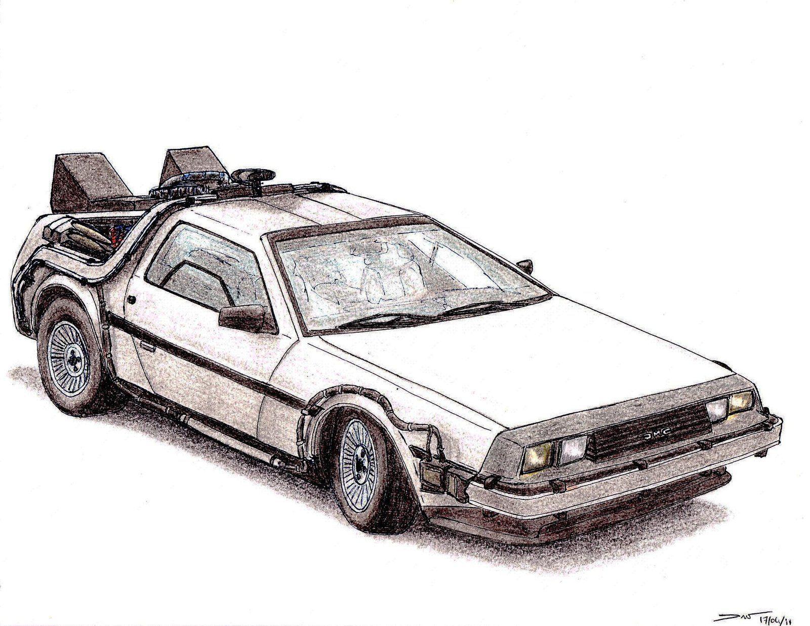 1981 Delorean Dmc 12 Bttf By Twistedmethoddan On Deviantart Delorean Back To The Future Bttf
