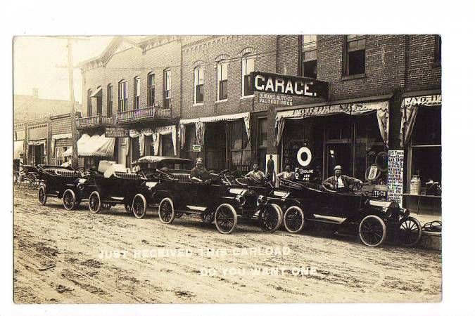 Model T Ford Forum 1914 Durand Wisconson Ford Cars Photo Old