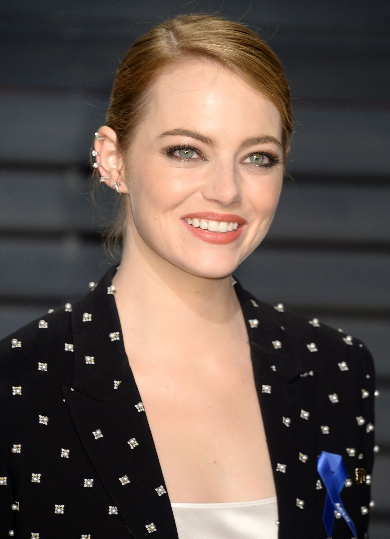 Emma Stone in Givenchy at 2017 Vanity Fair Oscar Party in Los Angeles Check more at https://fashnberry.com/2017/02/emma-stone-in-givenchy-at-2017-vanity-fair-oscar-party-in-los-angeles/