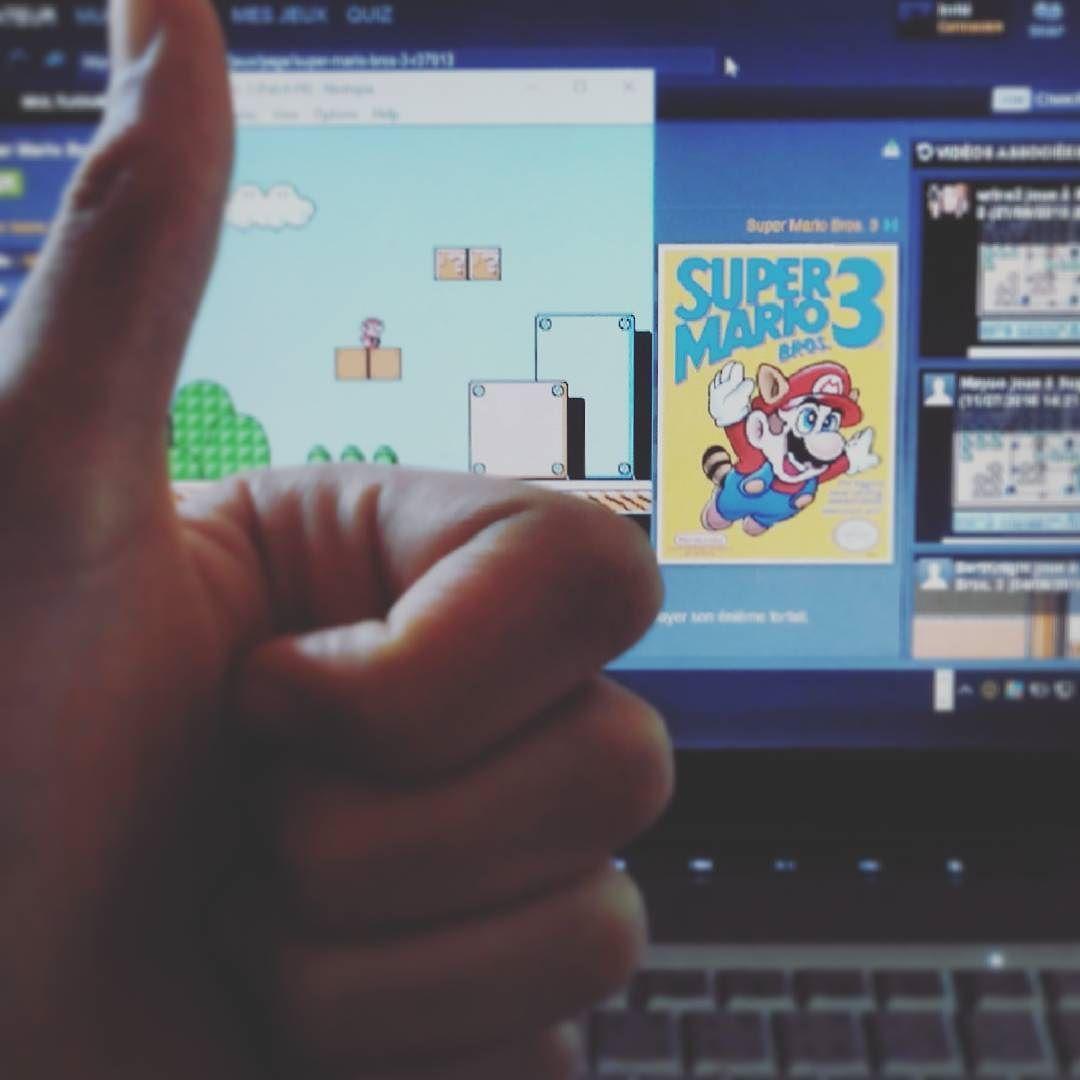 On instagram by yooplay_love.qc.and.jap #nes #microhobbit (o) http://ift.tt/1PGwMfK Mario Bros. 3   #supermariobros #mariobros #emulator #nostalgia