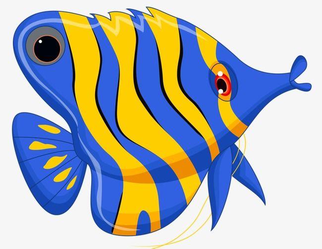 Pintado A Mano De Peces Mariposa Azul Gratis Png Y Clipart Peces De Colores Dibujos Arte De Peces Peces Pintados