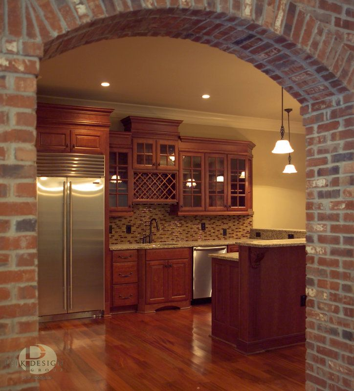 Vertical Brick Wall Accents Wall Decal: Maybe Add Another Layer To