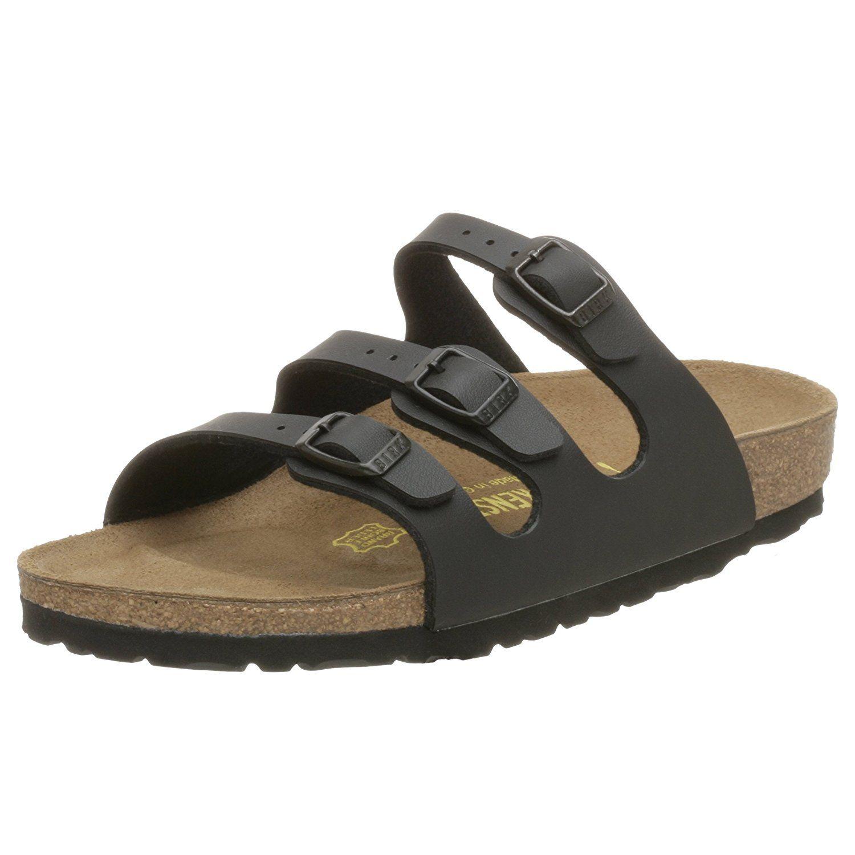 7e706d454dfd Birkenstock Florida Birko-Flor Triple Strap Sandal,Black,36 M EU * Special  product just for you. See it now! : Birkenstock sandals