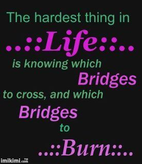 One the hardest things....