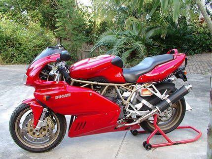 1998 Ducati 900 Super Sport Ducati Ducati 900ss Ducati Supersport