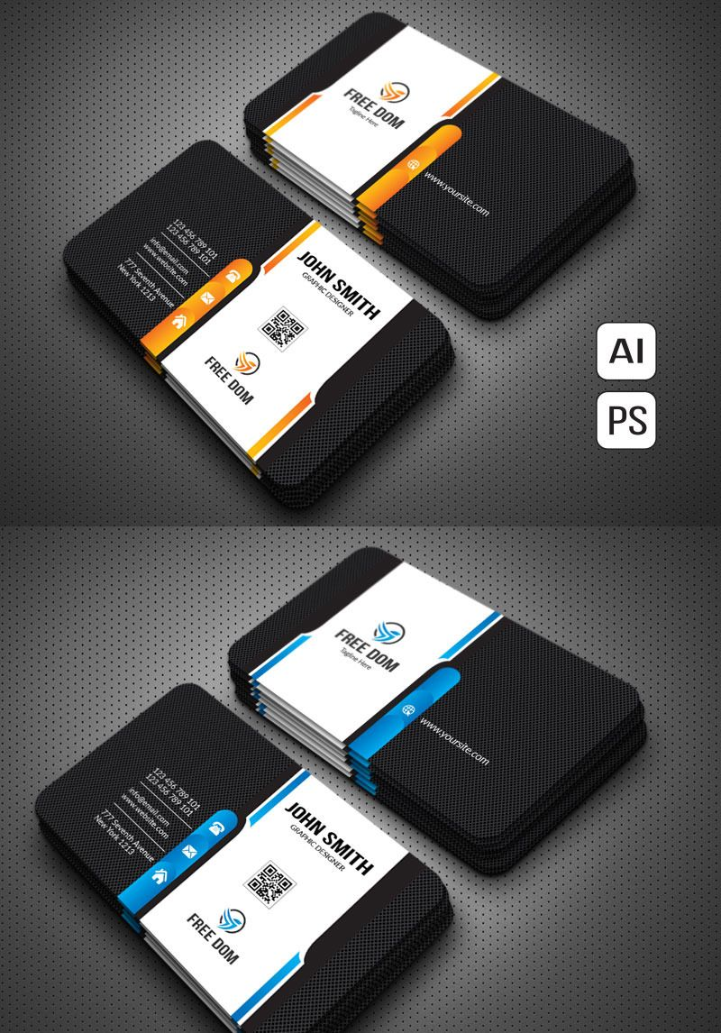 Print High Quality Business Card Corporate Identity Template 80418 Business Card Design Business Cards Creative Luxury Business Cards