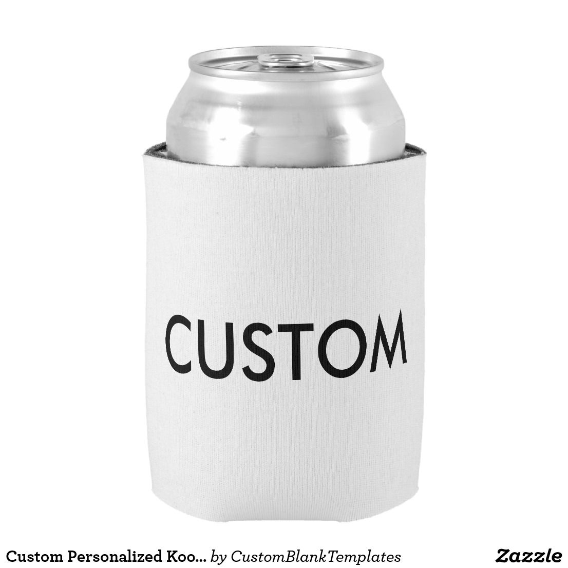 Custom Personalized Koozie Cooler Blank Template | Custom ...