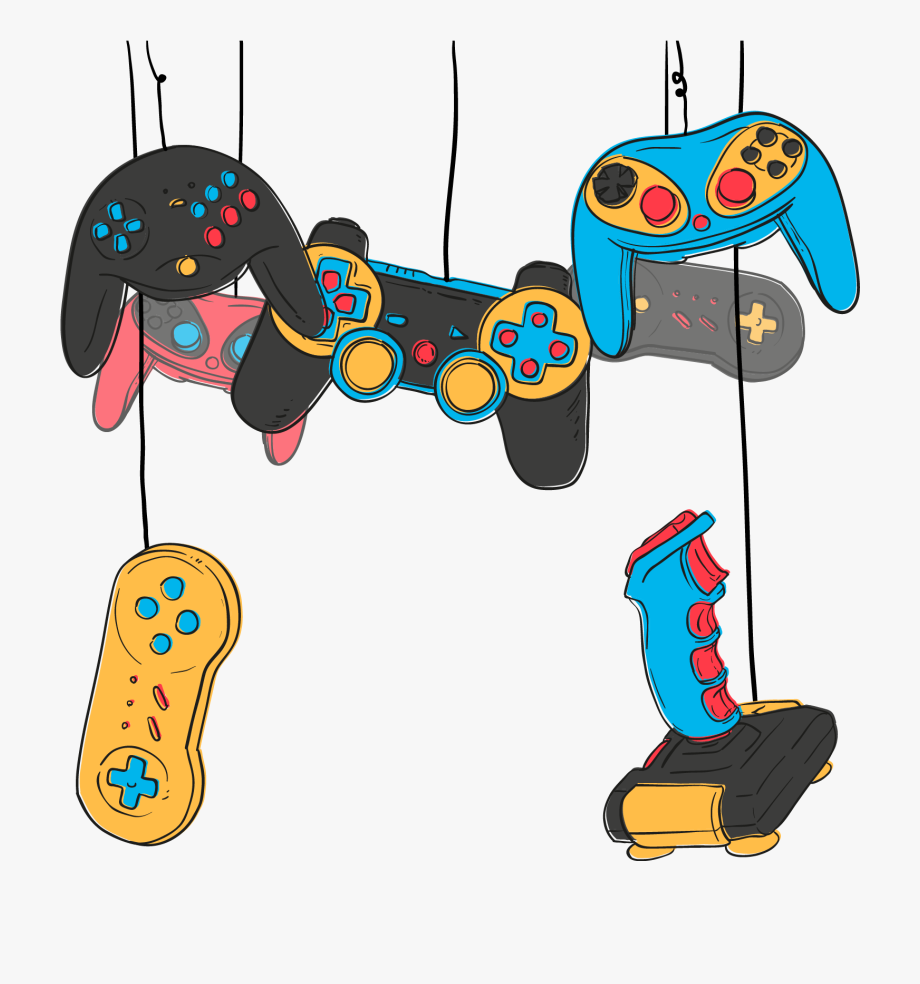 Download Video Game Game Controller Joystick Online Game Video Game Vector Png To Explore More R Online Video Games Download Video Games Cartoon Video Games