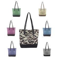 Photo of [Werbung]  WOMEN XXL SHOPPER Canvas Cotton HANDBAG Shoulder Bag DIN A4 …