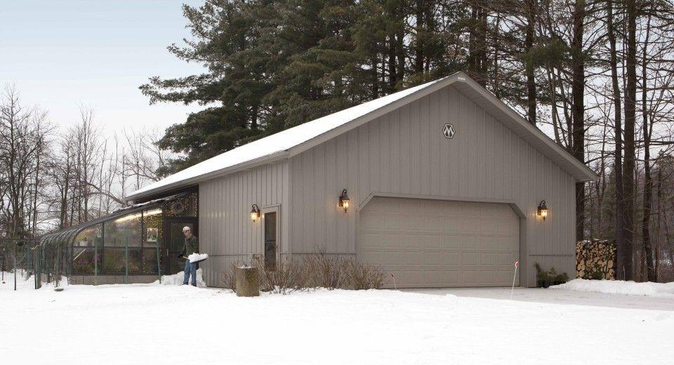 Jamesu0027 Garage   2 Car Garage Door Facing Street; Room For Apartment In Back