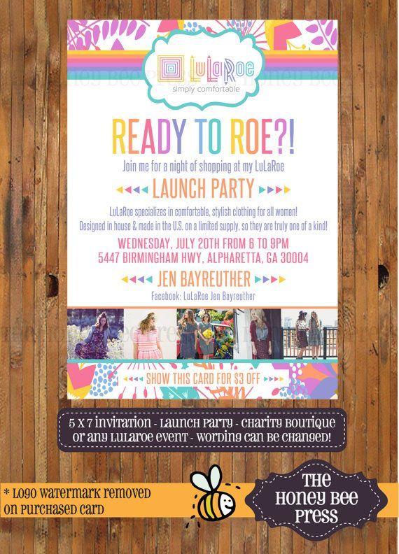 LuLaRoe Launch Party Invitation