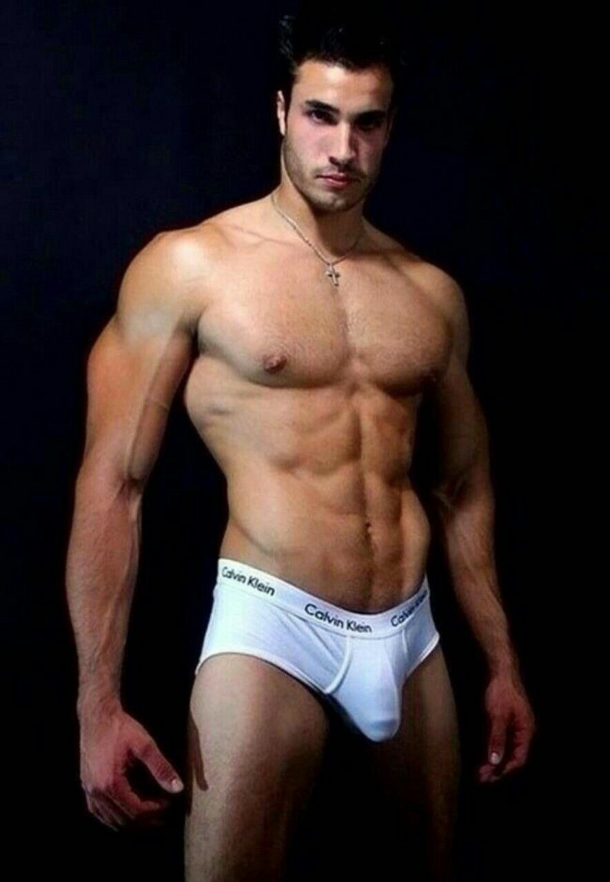 men underwear gay in white