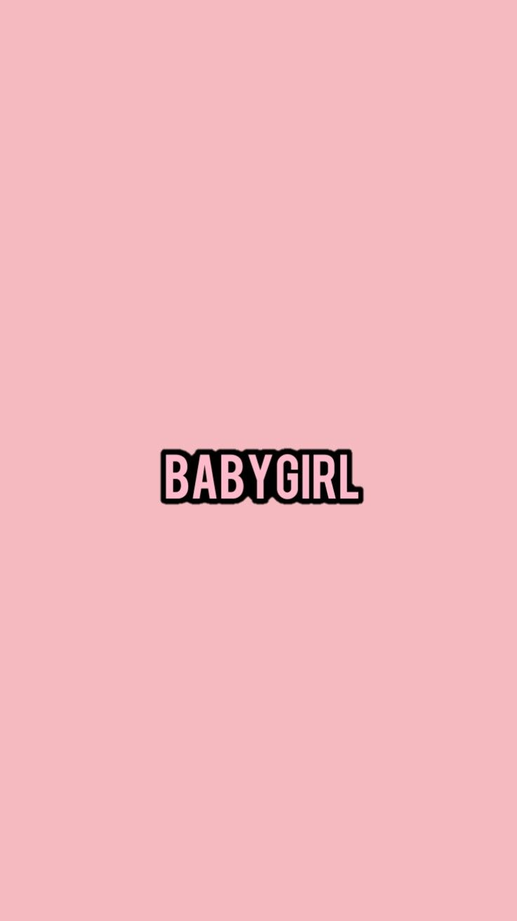 Babygirl By Kitrarn Lock Screen Wallpaper Cute Wallpapers
