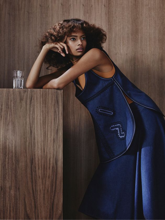 Malaika Firth for Vogue Russia