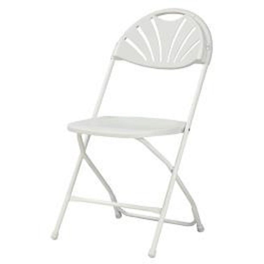 Cosco White Plastic Seat Metal Frame Outdoor Safe Folding Chair Set Of 8 60542wht8e Folding Chair Metal Folding Chairs Chair