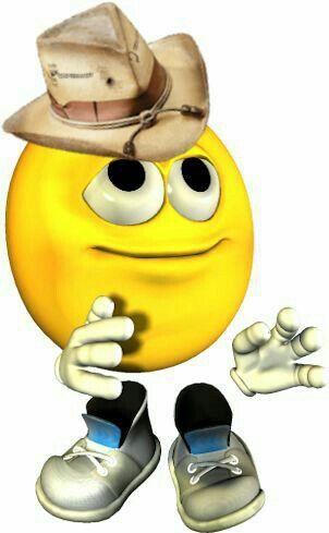 Cowboy Smiley   Smileys   Emoticon faces, Happy smiley face