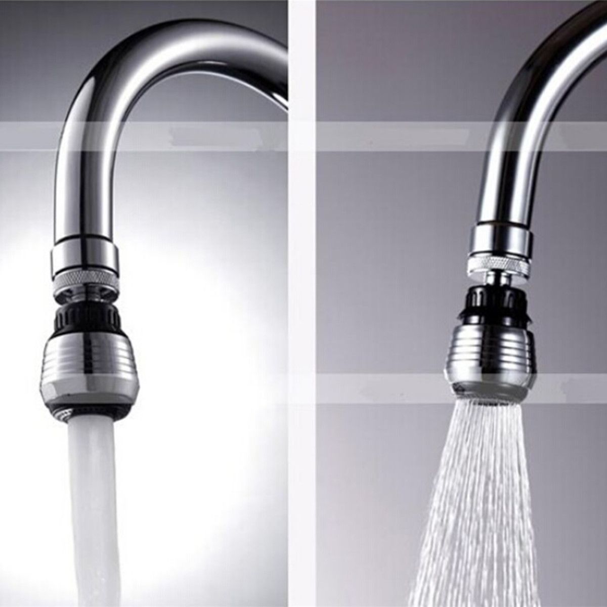 Water Saving Swivel Kitchen Bathroom Faucet Tap Adapter Aerator Shower Head Filter Nozzle Connector Faucet Bathroom Faucets Faucet Aerators