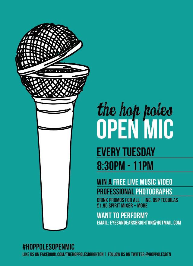 Poster Design For The Poles Open Mic Graphics Illustration Wacom