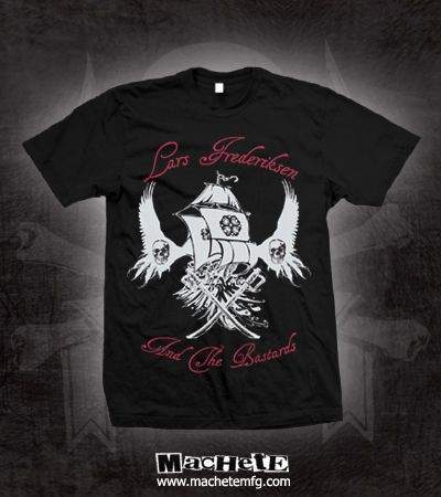 Check out the deal on Machete: Lars Frederiksen And The Bastards Ship With Wings T-Shirt at machetemfg.com