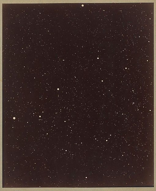 A Section of the Constellation Cygnus (August 13, 1885), Paul Henry (French, 1848–1905), Albumen silver print from glass negative