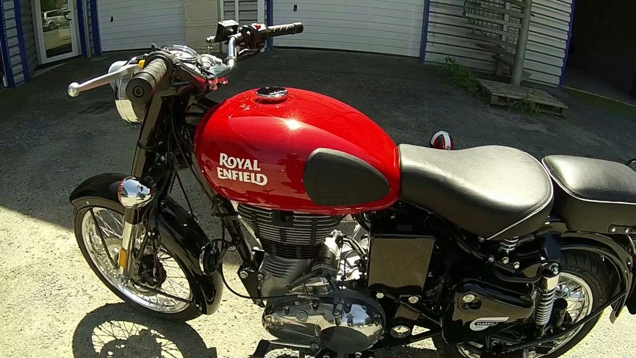 Royal Enfield Classic Redditch Edition Red Enfield Classic