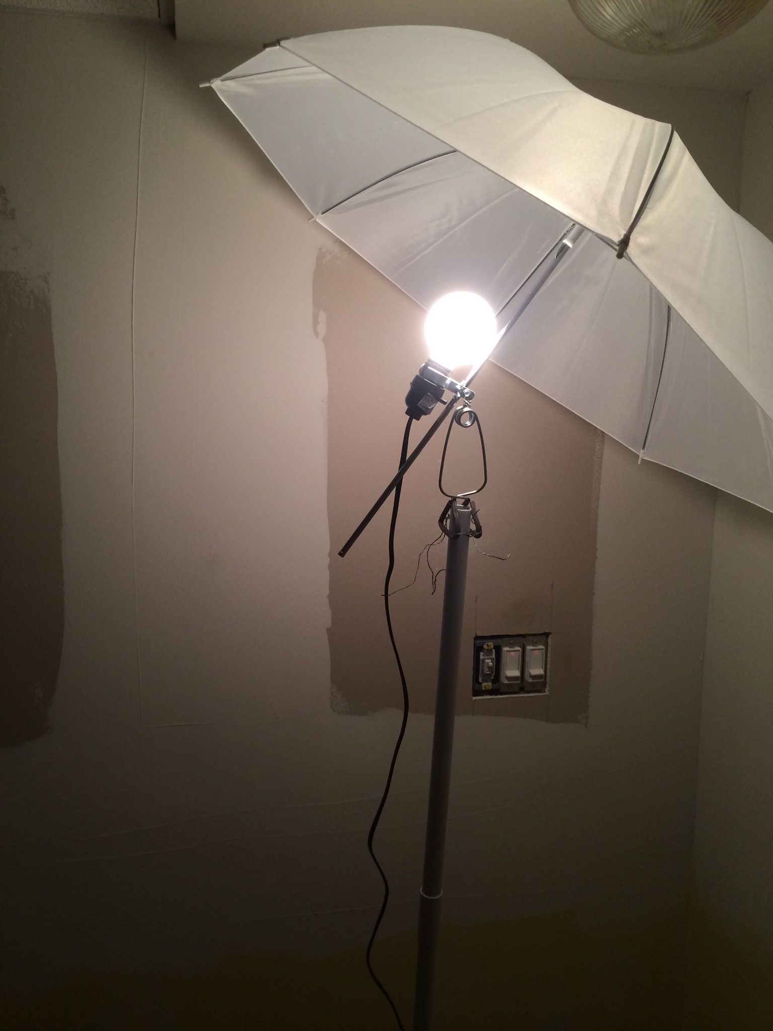 lamp interiores lights lighting repurposing de decoracion pin umbrella pinterest