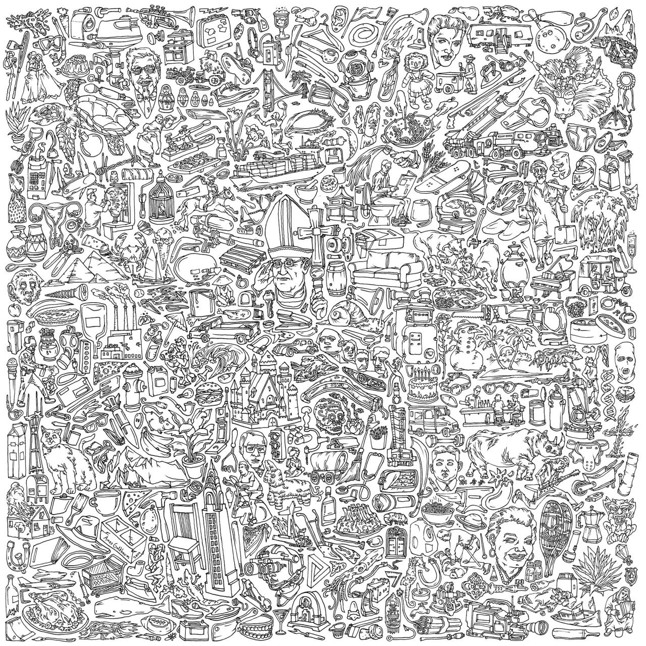 """I drew the album art for Geographer's new record """"Ghost ..."""