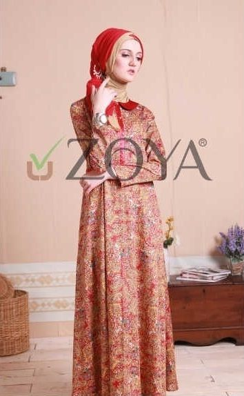 Koleksi Busana Muslim Zoya Dress Terbaru Fashion Idea Moslem