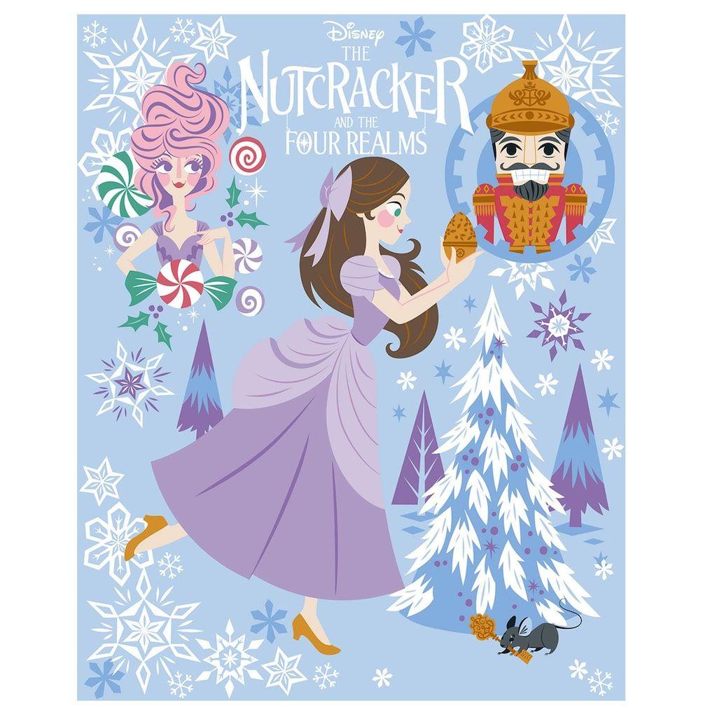 Disney S The Nutcracker And The Four Realms Clara Sugar Plum Fairy Nutcracker Throw Disney Nutcracker Sugar Plum Fairy Nutcracker