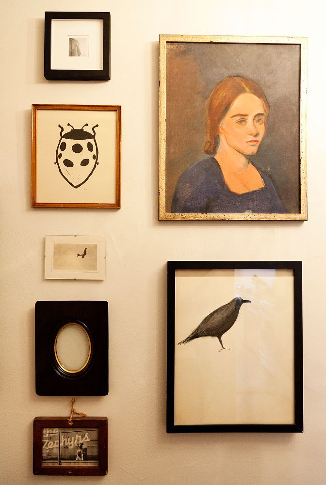 Michael Hainey & Brooke Cundiff « the selby . gallery wall ...