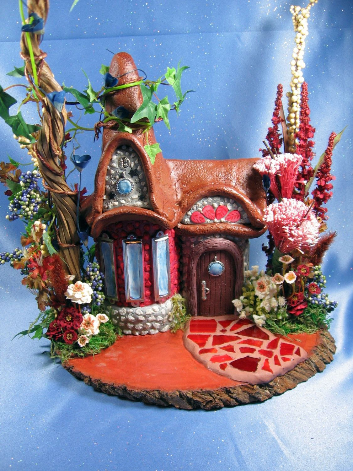 Large Magical Wizard\/Fairy House... 185.00, via Etsy.